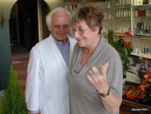 """""""Gigga"""" und Günther Hakert im September 2001"""