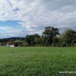 Punkt B - Blick auf Forsthofen und Traunried