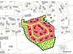 Hier an der Ettringer Hochstraße soll ein neues Baugebiet entstehen. © Ingenieurbüro Tremel