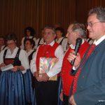 2003 Abschied vom aktiven Sängerleben von Roland Mühlbauer und Mathäus Schwarzenbacher