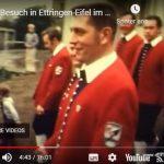 1973 Roland Mühlbauer beim Umzug in der Parternergemeinde Ettringen /Eifel