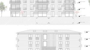 """Zwar kein planerisches """"Highlight"""", sondern lediglich ein """"Zweckbau"""" – so soll das geplante Mehrfamilienhaus aussehen. Bild mz-online +PLUS"""