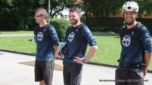 Die Initiatoren Christian Walter, Jochen Marz und Patrick Konrad (von links) freuen sich über den gelungenen Start. Foto: Karin Donath