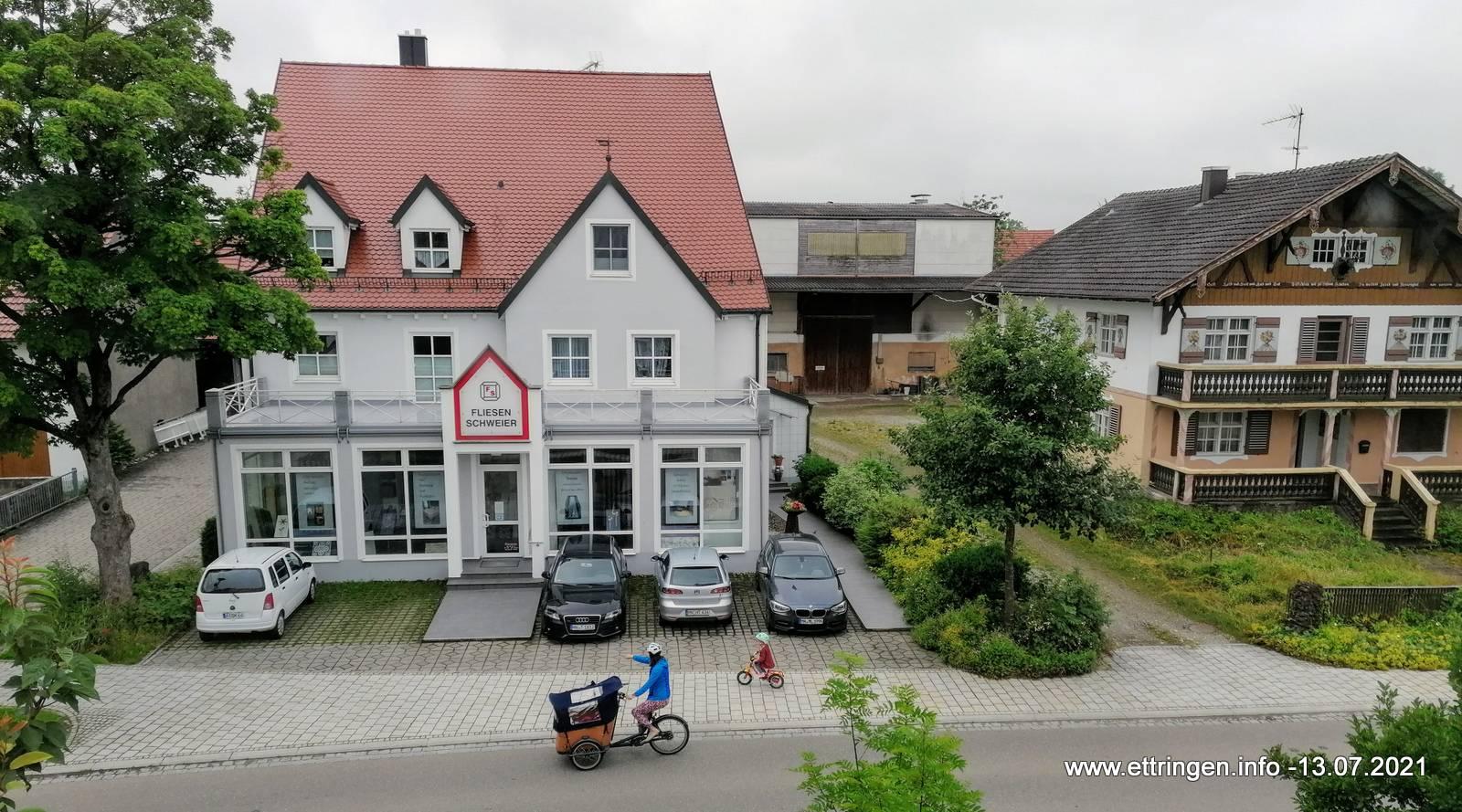 Auch in Ettringen werden Lastenfahrräder genutzt