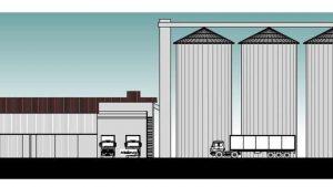 Unter anderem die 27 Meter hohen Silos des geplanten Raiffeisenmarktes in Ettringen sorgen für kontroverse Diskussionen. Die Bund-Naturschutz-Ortsgruppe hatte eine ganze Reihe von Nachbesserungen gefordert, von denen der Ettringer Gemeinderat nun viele in die Planungen aufgenommen hat.